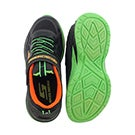 Bys Lunar Sonic charcoal/lime sneaker