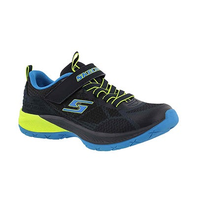 Bys Lunar Sonic navy/lime sneaker