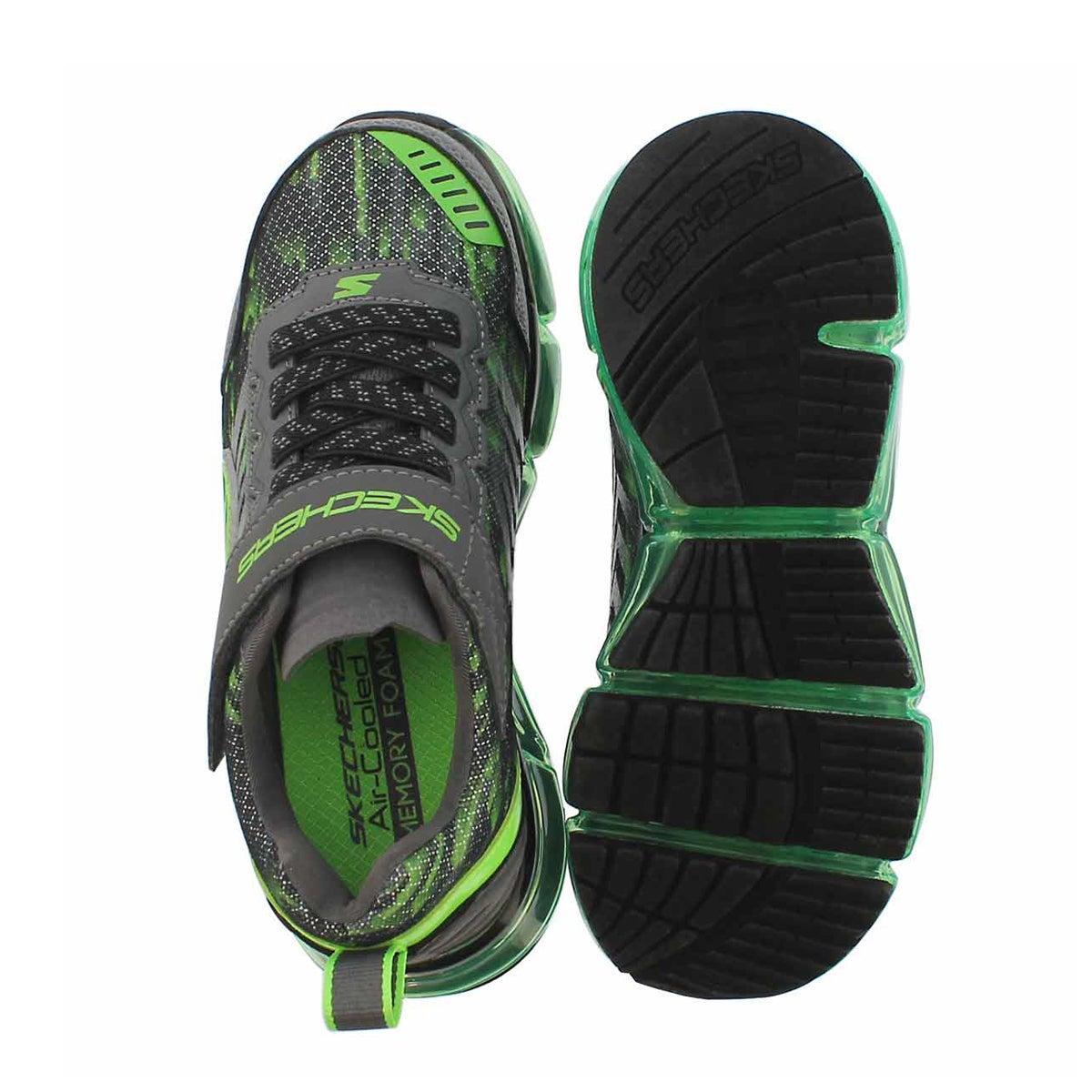 Bys Skech-Air Mega blk/grn sneaker