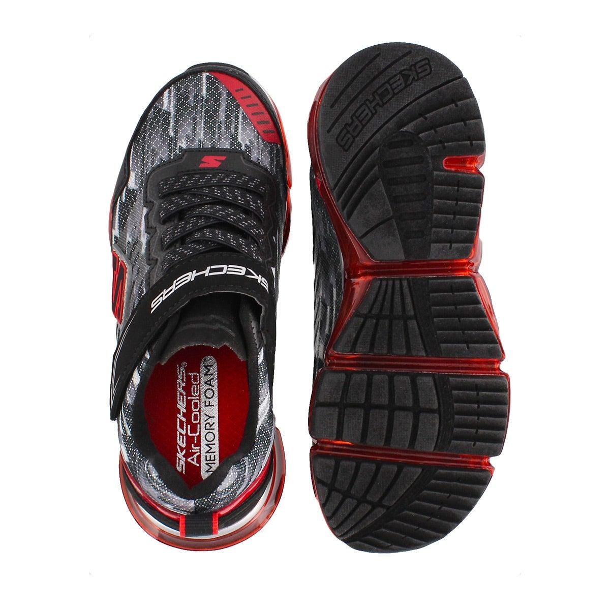 Bys Skech-Air Mega blk/red sneaker