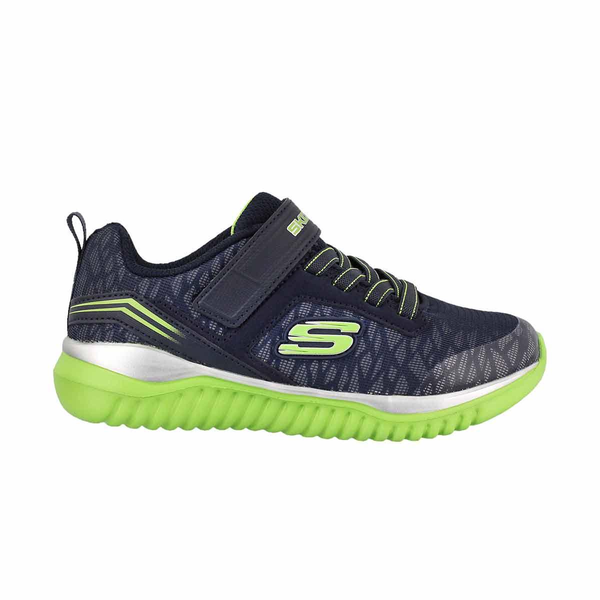 Bys Turboshift navy/lime sneaker