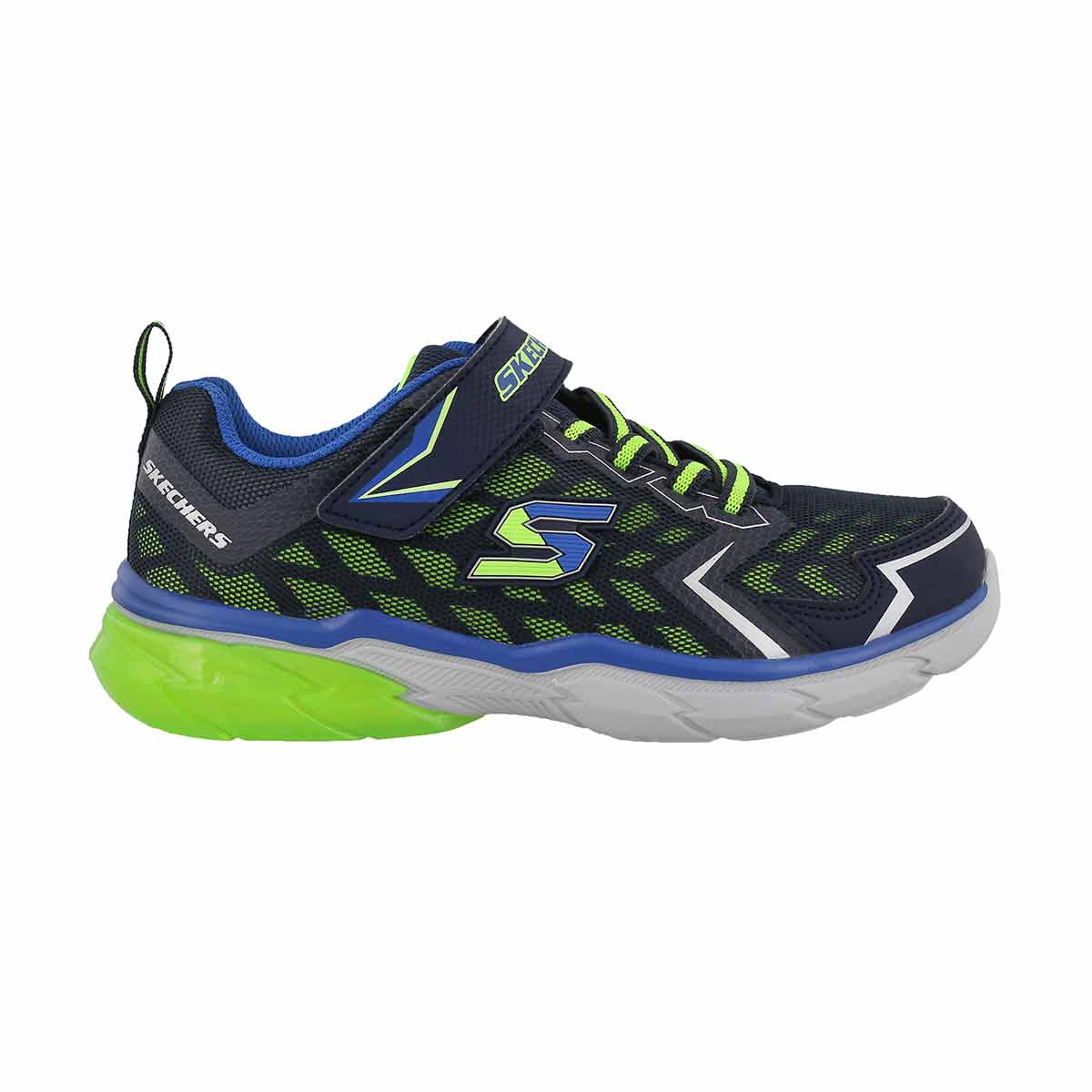 Bys Thermoflux NanoGrid nvy/lime sneaker