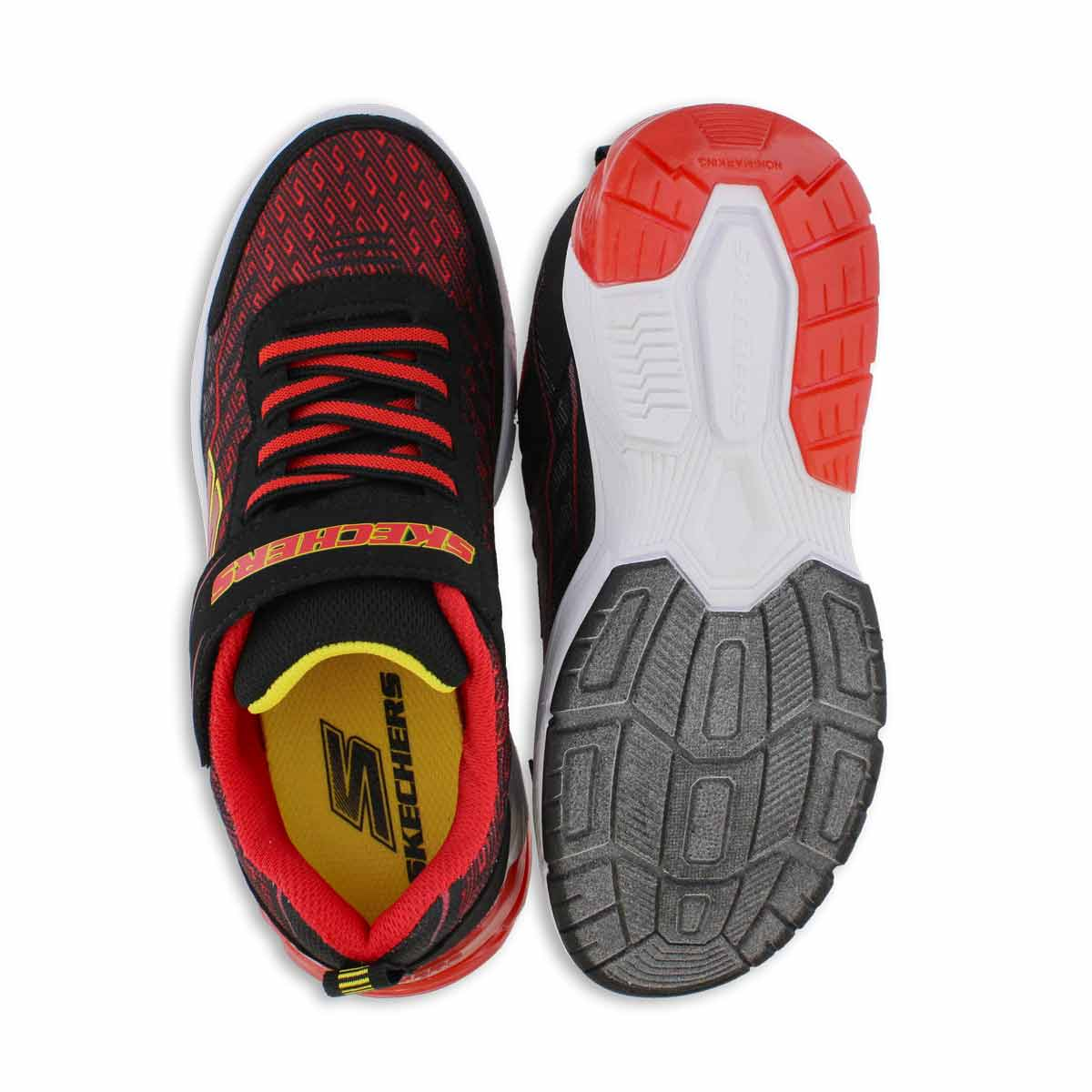 Bys Thermoflux 2.0 blk/rd sneaker