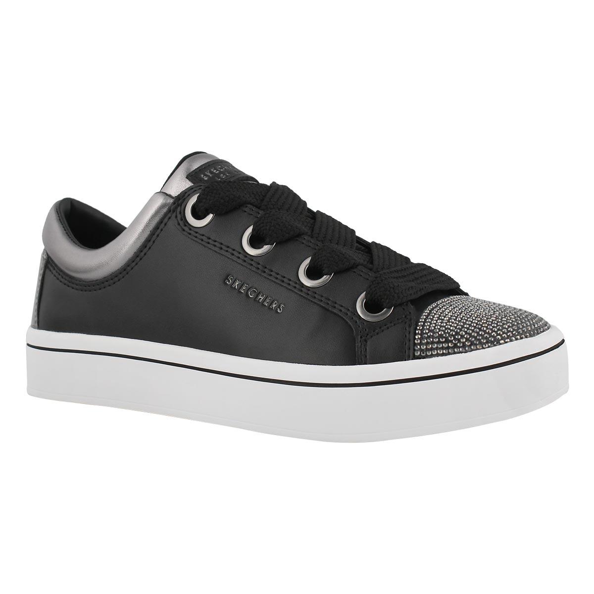 Women's HI-LITES black/pewter lace up sneakers