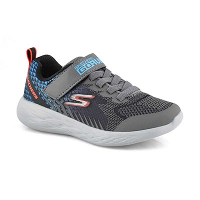 Bys Go Run 600 black/blue sneaker