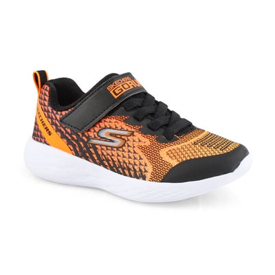 Bys Go Run 600 black/orange sneaker