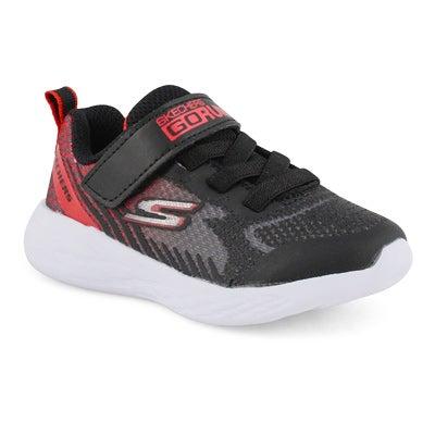 Infs-b Go Run 600 blk/rd sneaker