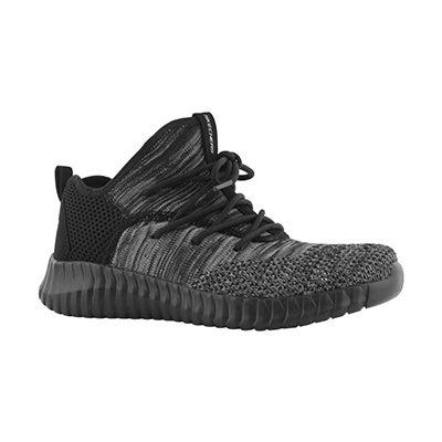 Bys Elite Flex blk/gry lace up sneaker