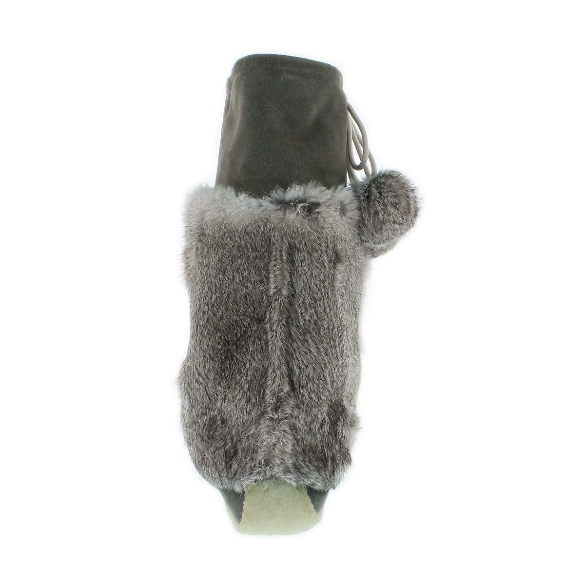 Lds gry rabbit fur 16