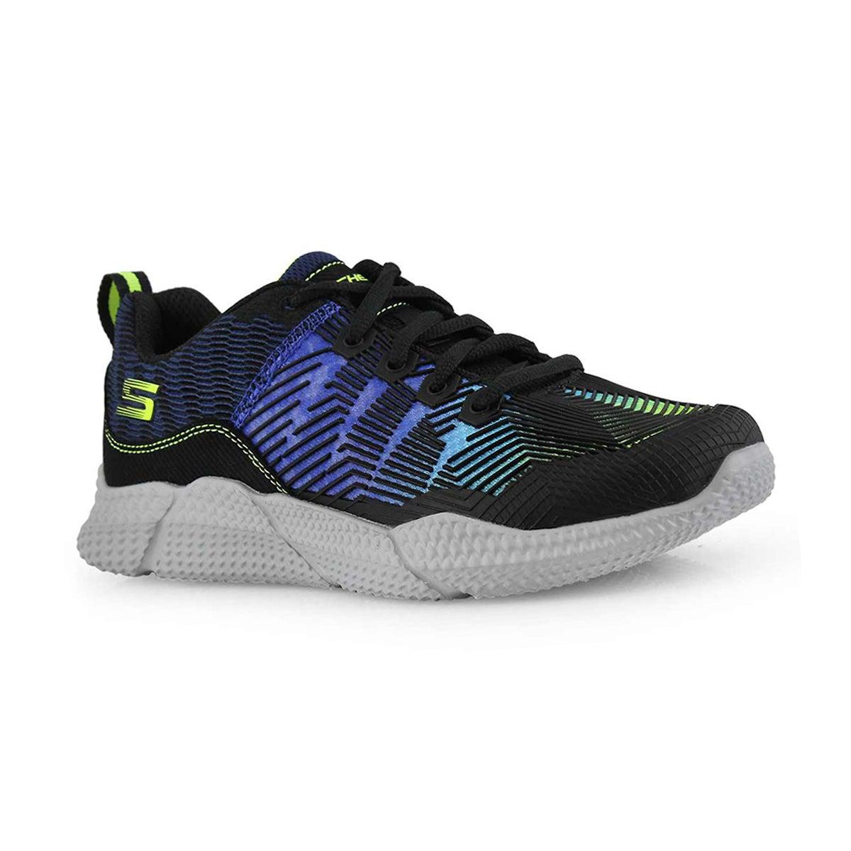 Bys Intersectors blu/lme lace up sneaker