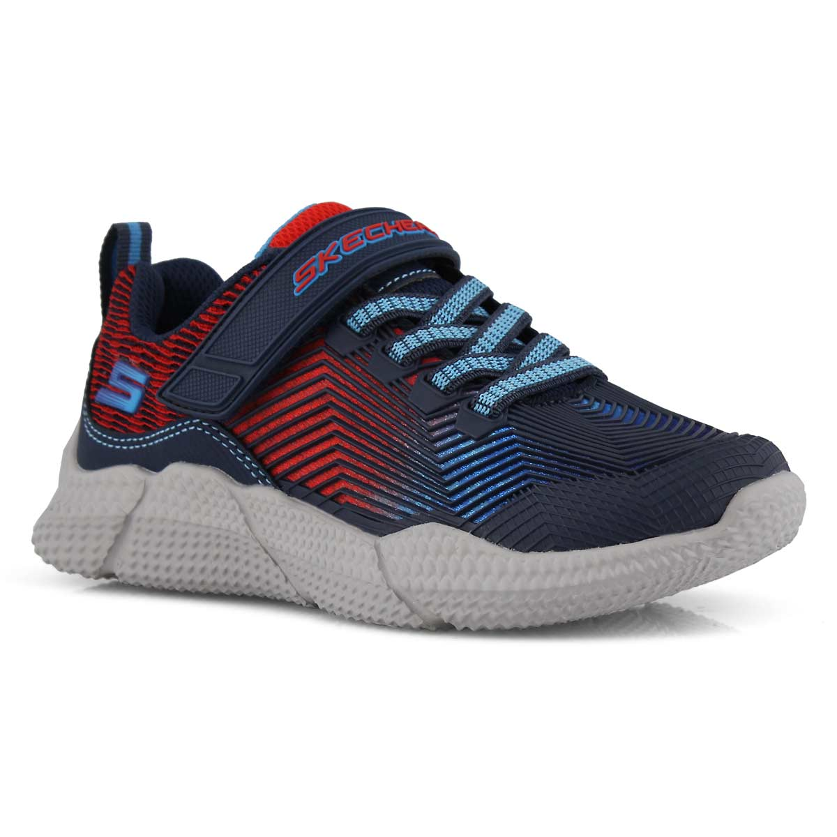 Bys Intersectors nvy/rd sneaker