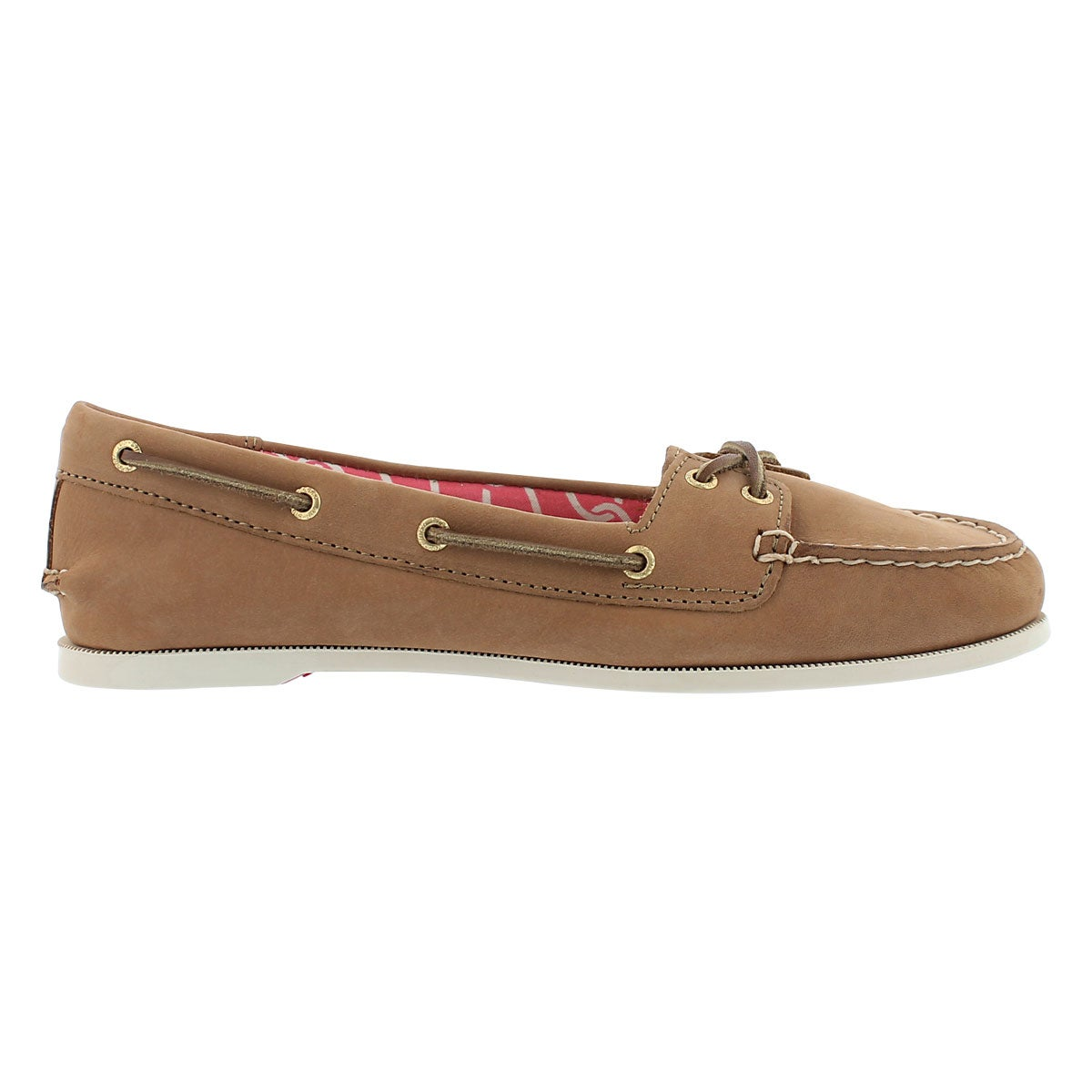 Lds Audrey desert leather boat shoe