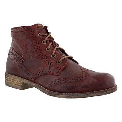 Josef Seibel Women's SIENNA 15 wine ankle boots