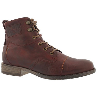Lds Sienna 17 wine tall ankle boot