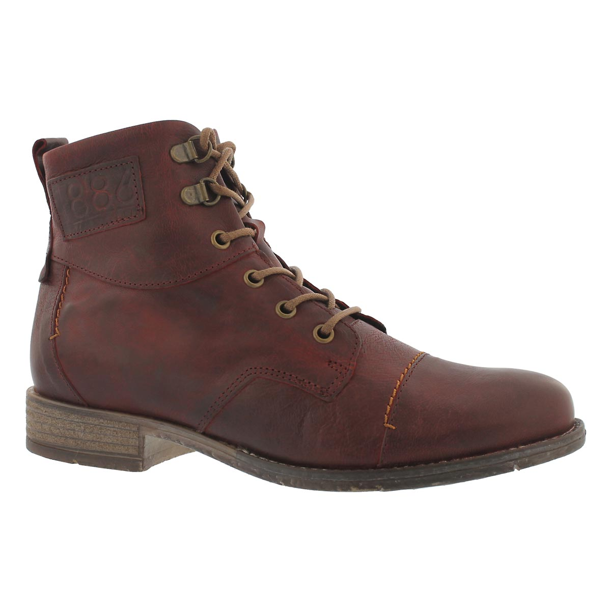 Womnen's SIENNA 17 wine tall ankle boots