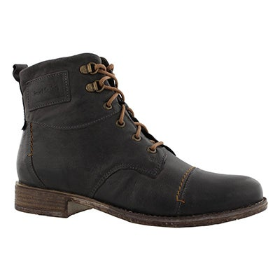Lds Sienna 17 graphite tall ankle boot