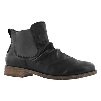 Lds Sienna 59 black slip on bootie