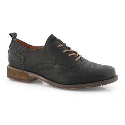 Lds Sienna 73 schwarz casual oxfords