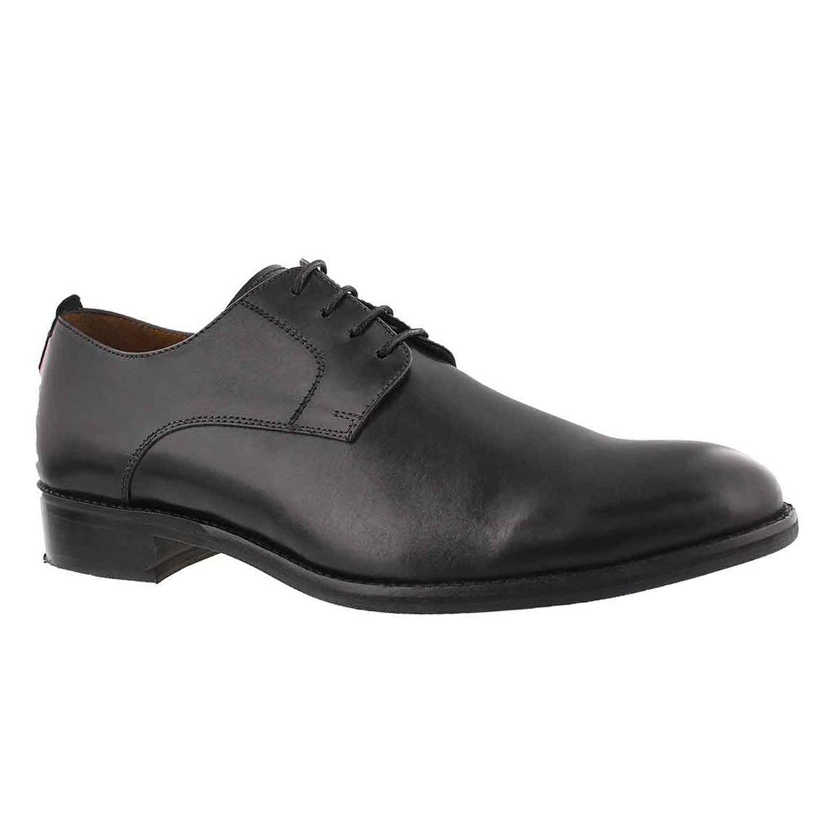 Men's AARON black lace up dress oxfords