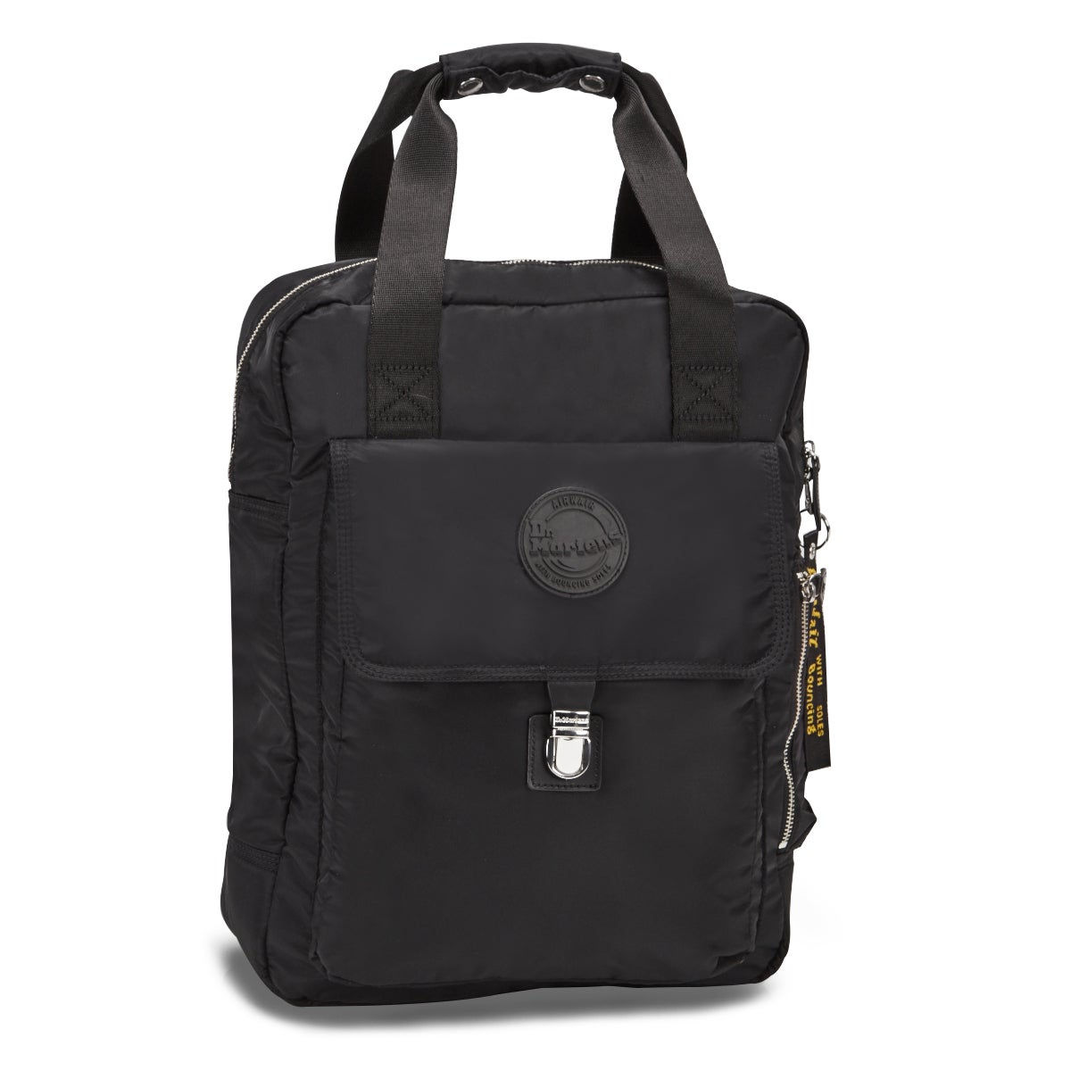 Dr Martens Large blk nylon backpack