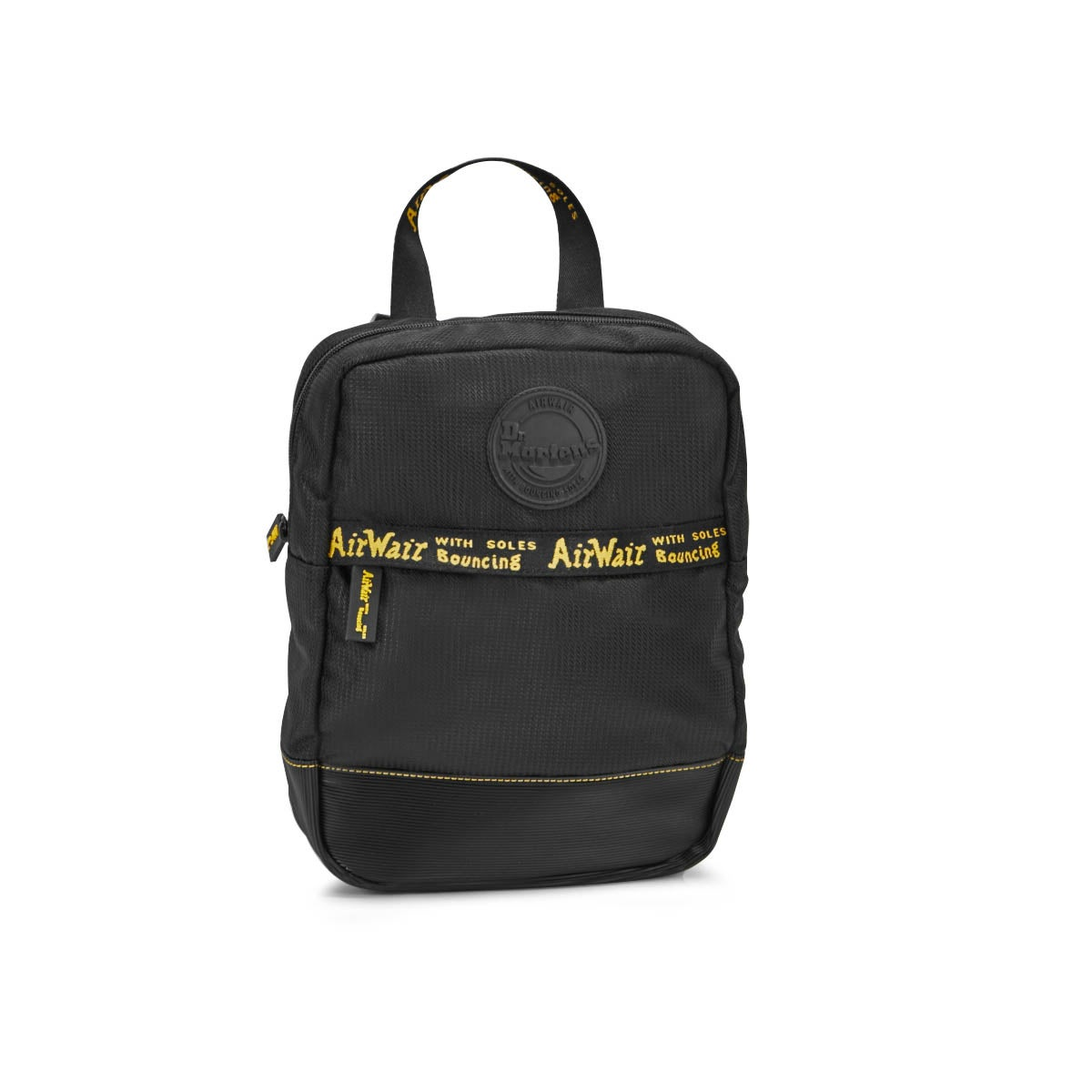 Dr Martens Small blk polyester backpack