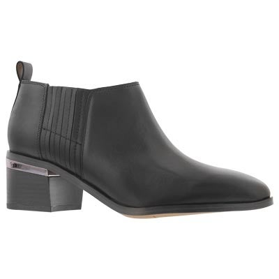 Lds Aberdale black slip on bootie