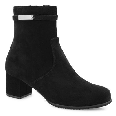 Lds Abigail blk wtpf ankle boot