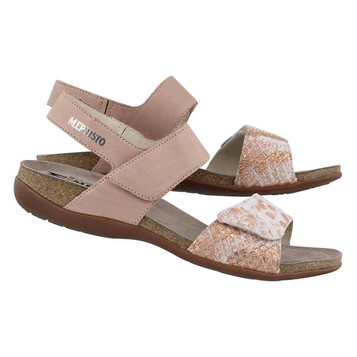 Lds Agave nude cork footbed sandal