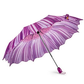 Austin House Austin House Telescopic purple umbrellas
