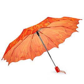 Austin House Austin House Telescopic orange umbrella