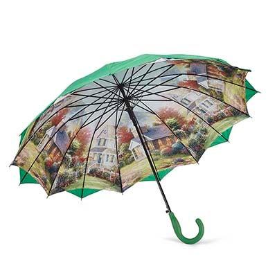 Austin House Parapluie AUSTIN HOUSE PANEL STICK, vert