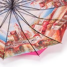 Austin House Panel Stick pink umbrella