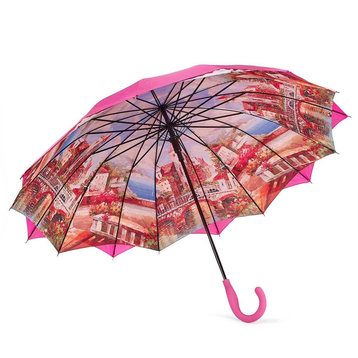 Parapluie Austin House Panel Stick, rose