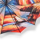 Austin House Panel Stick red umbrella