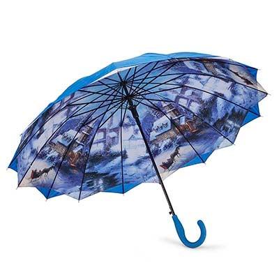 Austin House AUSTIN HOUSE PANEL STICK blue umbrella