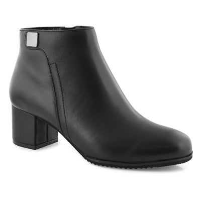 Lds Aida blk wtpf ankle boot