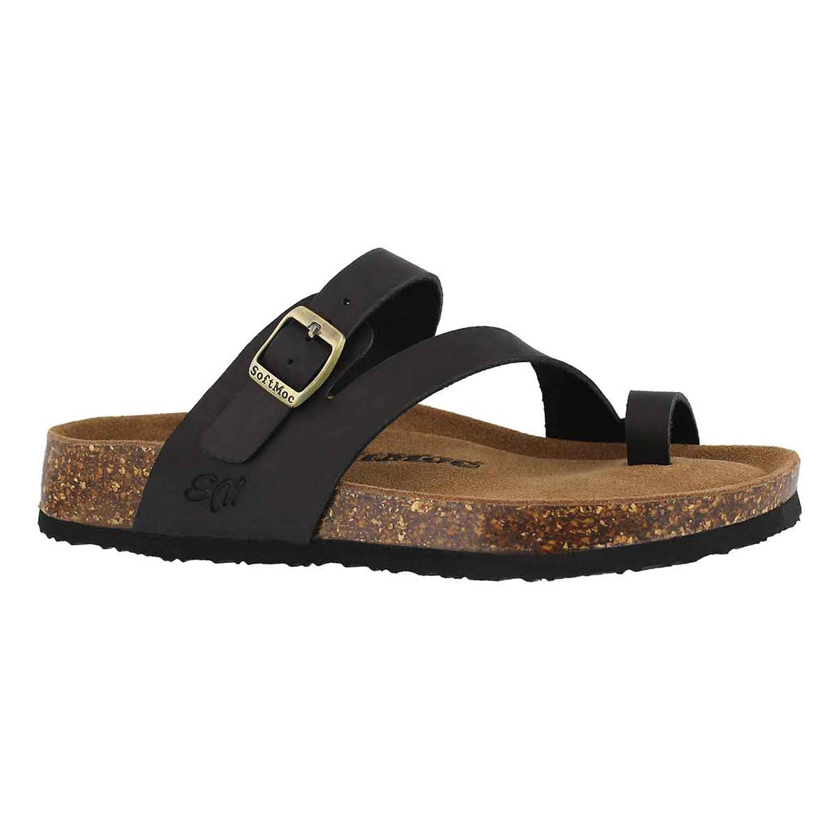 Women's AILEEN 5  black memory foam sandals