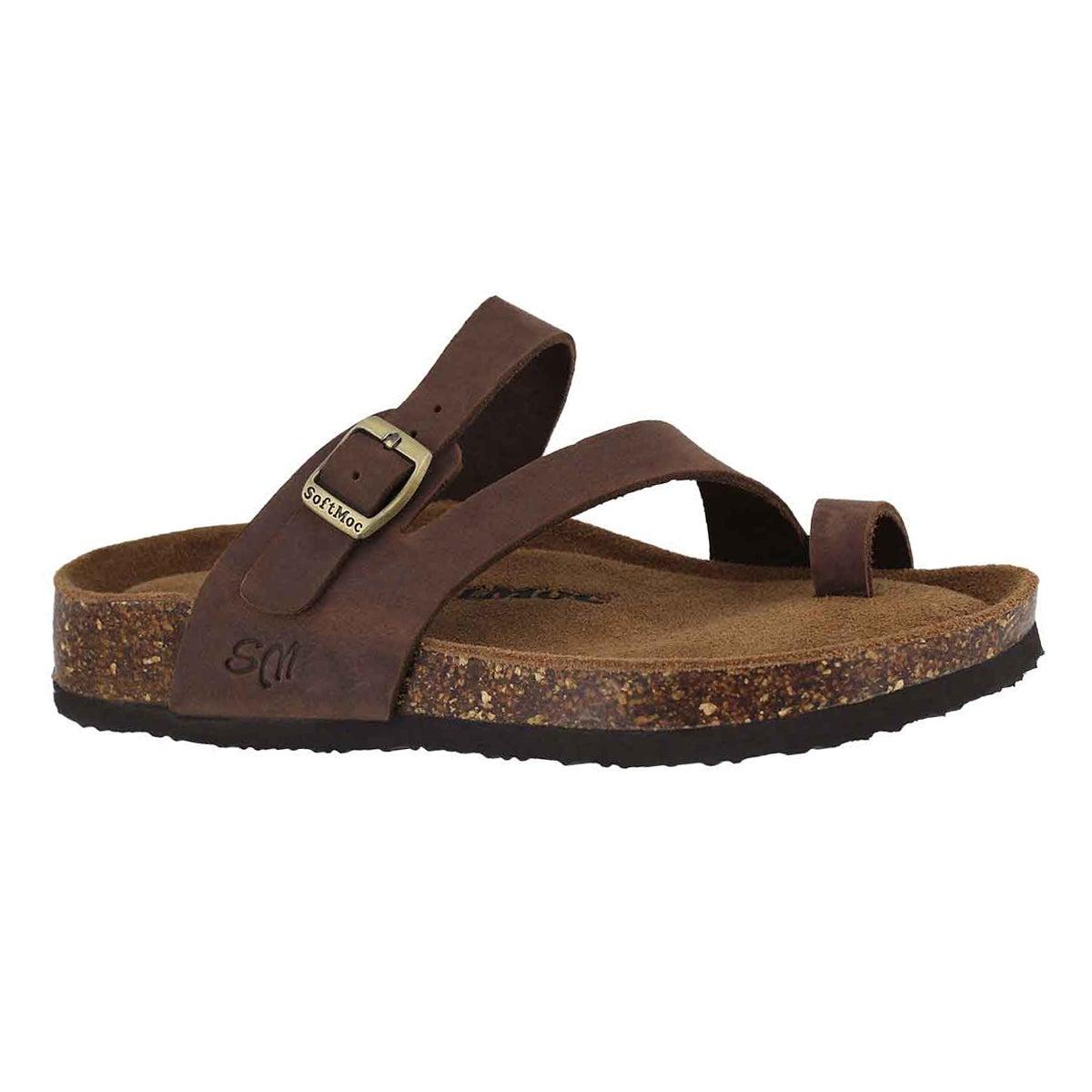 Women's AILEEN 5 brown memory foam sandals