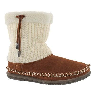 Foamtreads Women's ALANA spice bootie slippers