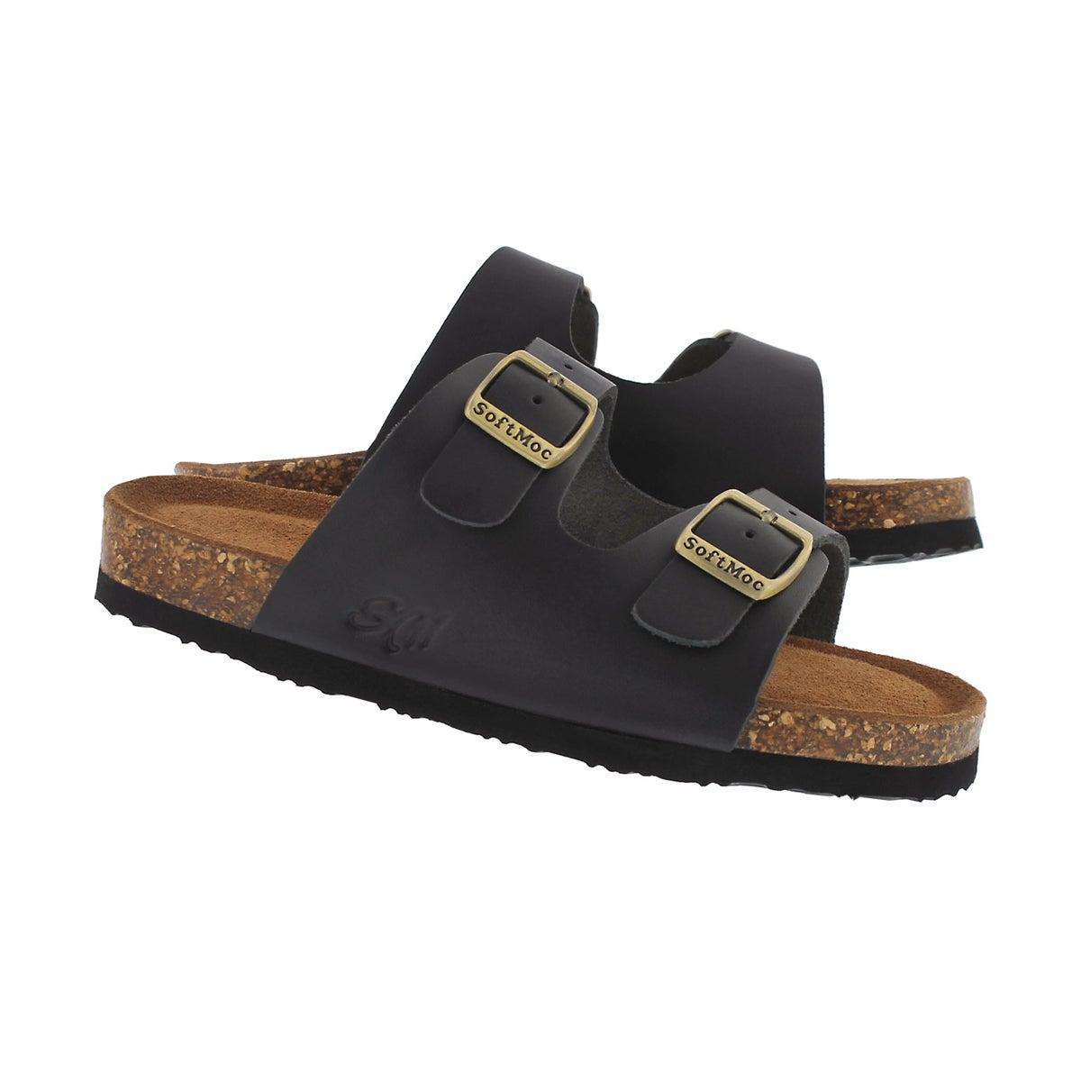 0ddbe799473 Kids' ALBERTA 5 black memory foam sandals