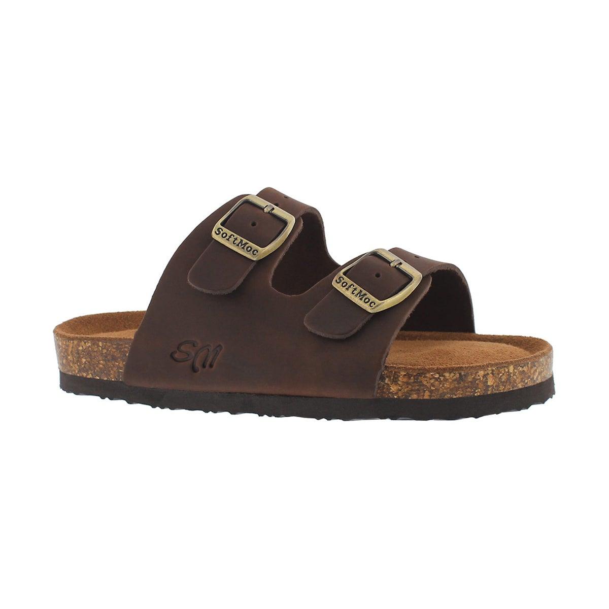 Kids' ALBERTA 5 brown memory foam sandals