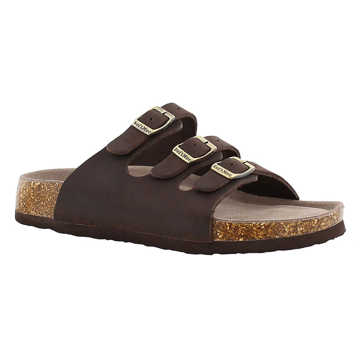 Women's ALEXIS 2 brown memory foam sandals