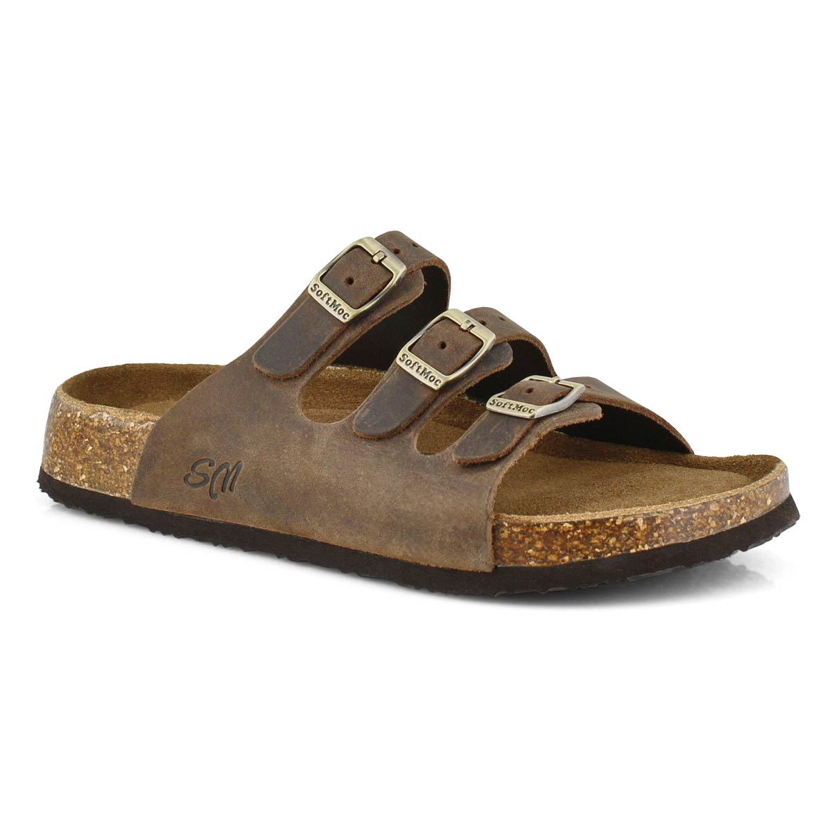 Women's ALEXIS 5 brown memory foam sandals