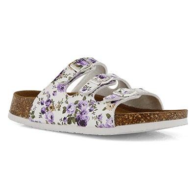 Sandale, Alexis 5 Flower, violet, fem.
