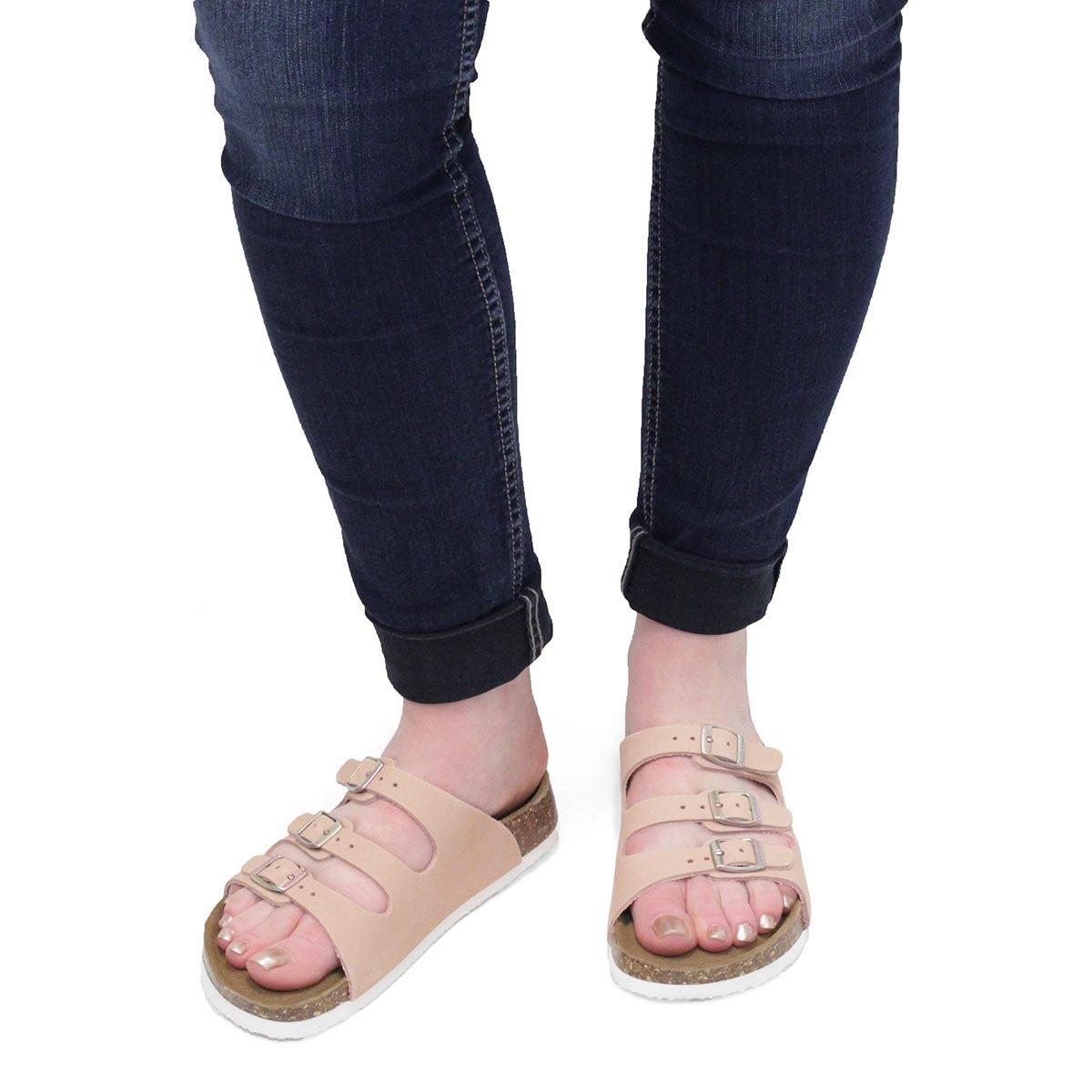 Lds Alexis 5 mil pnk slide sandal