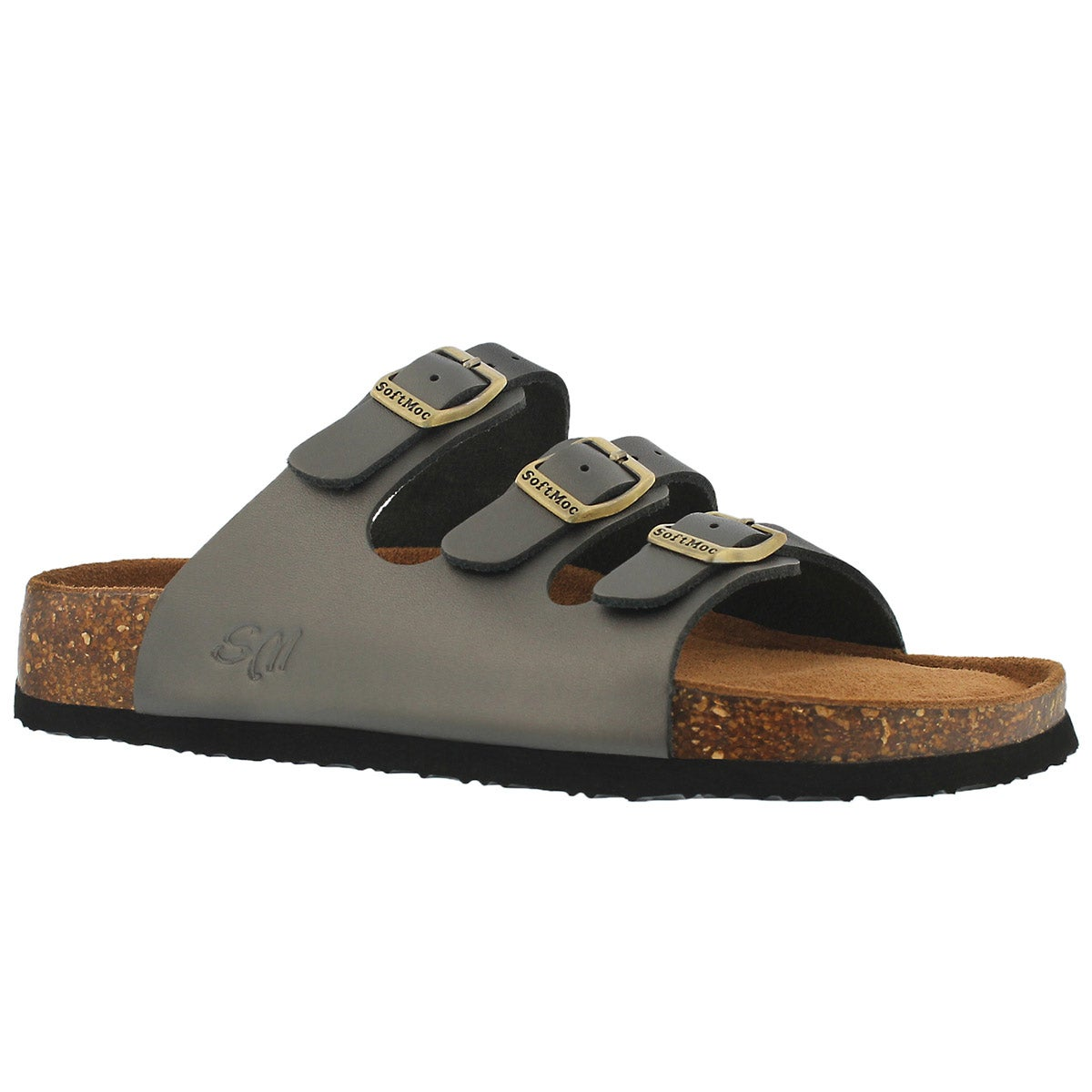 Women's ALEXIS 5 pewter memory foam sandals
