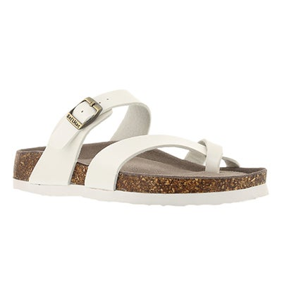 SoftMoc Women's ALICIA 3 moonstone memory foam sandals