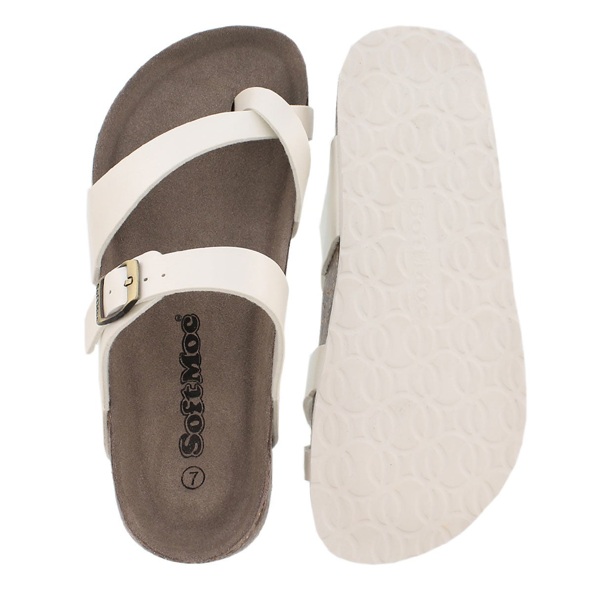 Lds Alicia3 moonstone memory foam sandal