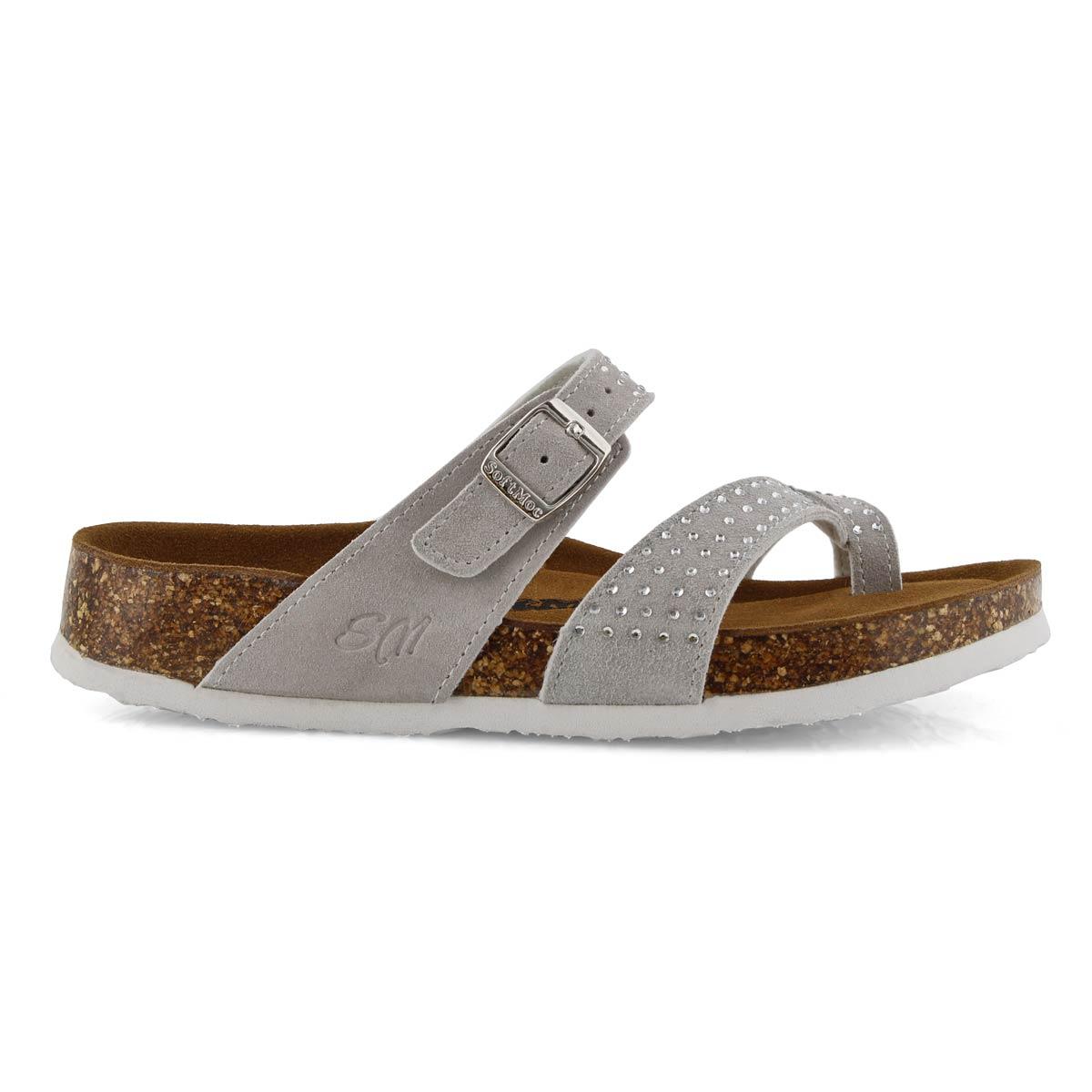Lds Alicia 5 Bling ice mem foam sandal