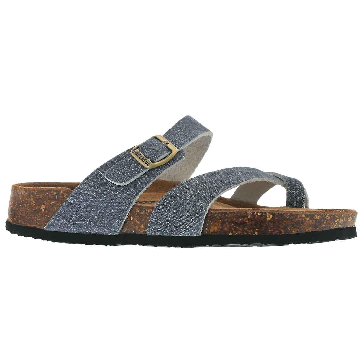 Women's ALICIA 5 denim memory foam sandals